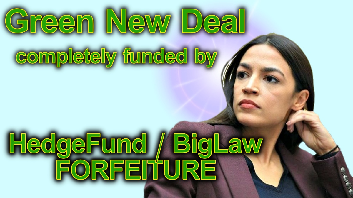 Alexandria Ocasio-Cortez is thinking about using RICO Forture provisions against American Hedge Funds and their crooked BigLaw firms
