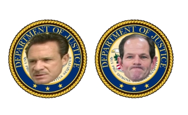 Paul Bergrin and Eliot Spitzer are both former State prosecutors and DOJ Federal Prosecutors who subsequently engaged in illegal business with organized crime